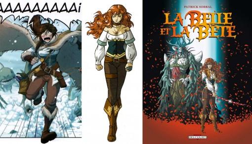 Le costume d'Esmeralda s'inspire directement du costume de Bellyana tiré de la BD La belle et la bête