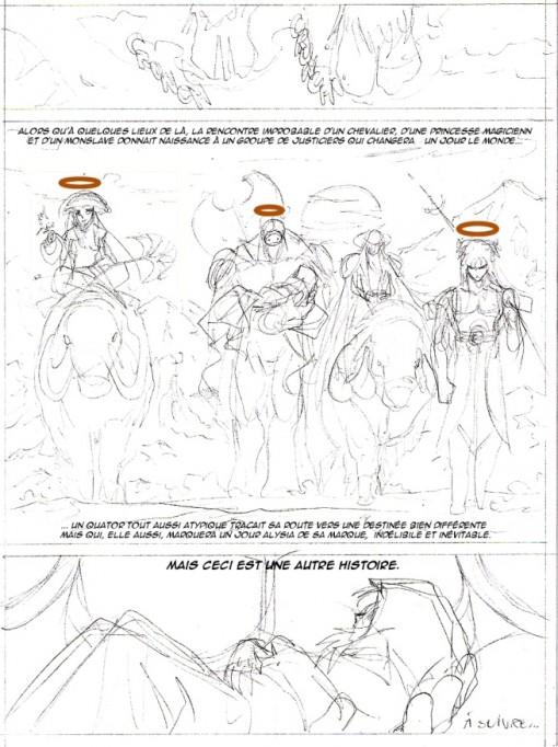 Tome 3 - Légendaires Origine -Page 46 abandonnée