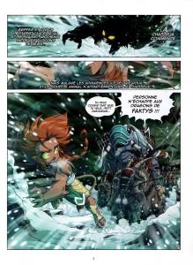 Page 1 : Les Légendaires Origines - Tome 3