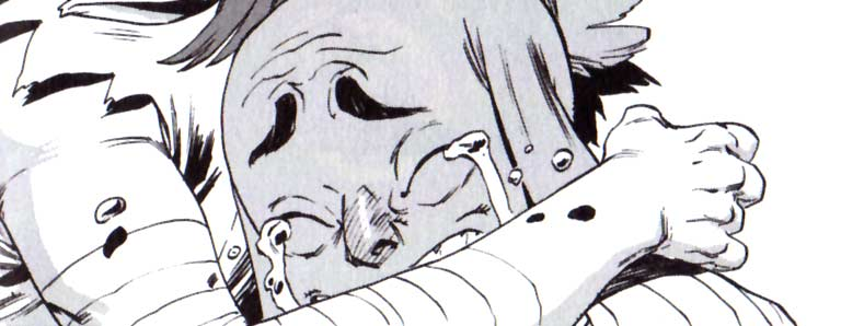 Ogrest a des larmes magiques