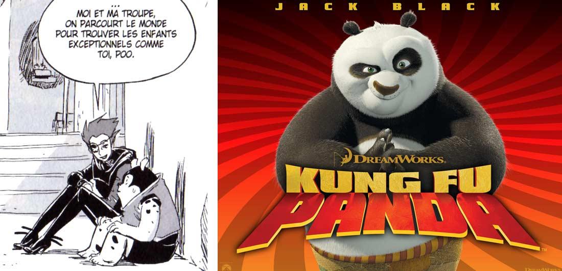 Po évoque Poo de Kung Fu Panda