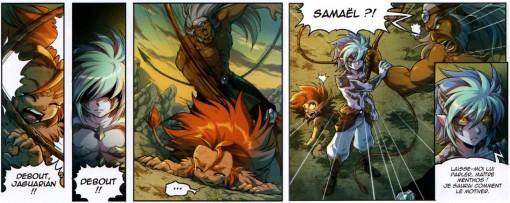 Samaël demande à entrainer Gryf