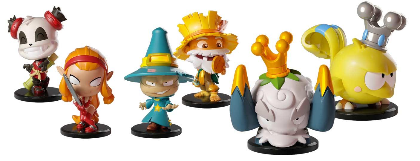 Krosmaster Junior figurines et monstres
