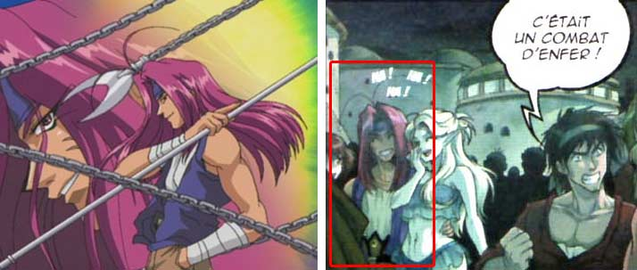 Sha Gojyo de l'anime Gensomaden Saiyuki