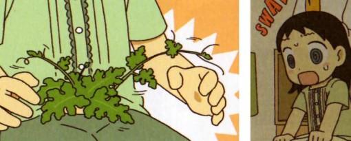 Praline a peur que les graines poussent dans son ventre