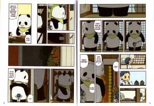 Page 3 et 4 de Pan'Pan Panda - tome 3