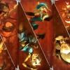 Cartes de caractéristiques de tome 2 de Dofus : Le fil Pourpre