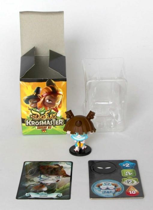 krosmaster Adamai contenu de la boite
