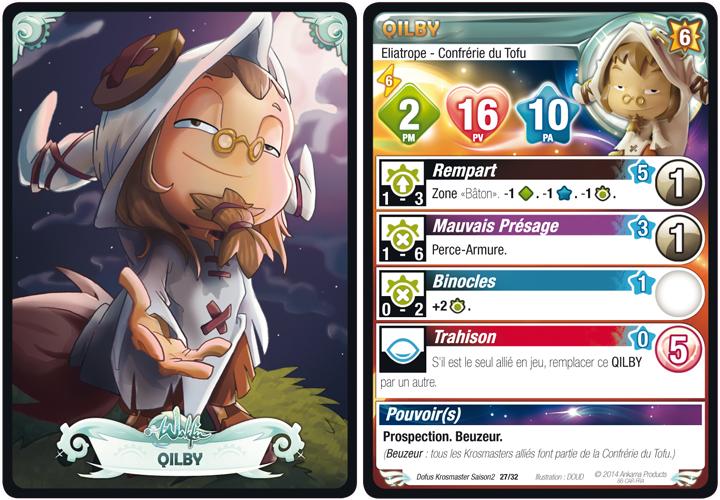 Qilby carte Krosmaster