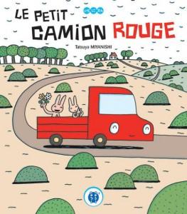 Couverture du livre pour jeunesse le petit camion rouge