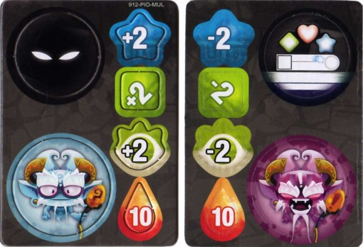 Krosmaster cartes bonus pions