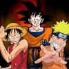 One Piece - Dragon-Ball - Naruto
