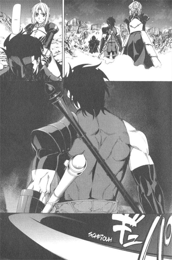 Page 1 du tome 3 du manga Fate Zero