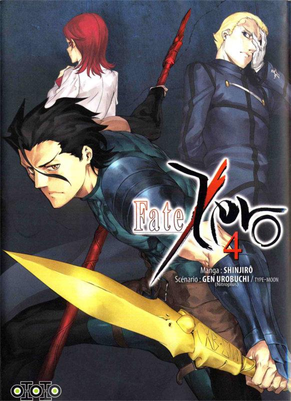 Couverture du manga Fate Zero Tome 4