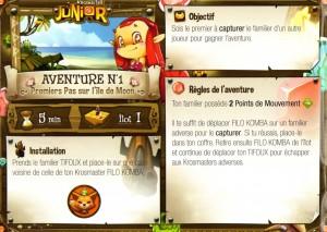 Page 2 du Carnet d'aventures de Filo Komba