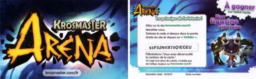 krosmaster junior carte du code en ligne