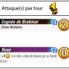 Statistiques d'attaques de Riktus Brakmar