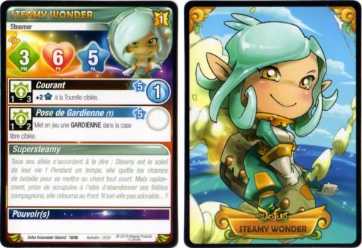 Steamy Wonder carte Krosmaster