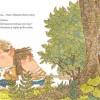 Page 5 du livre jeunesse de qui a peur le grand méchant Loup ?, édité par nobi nobi !