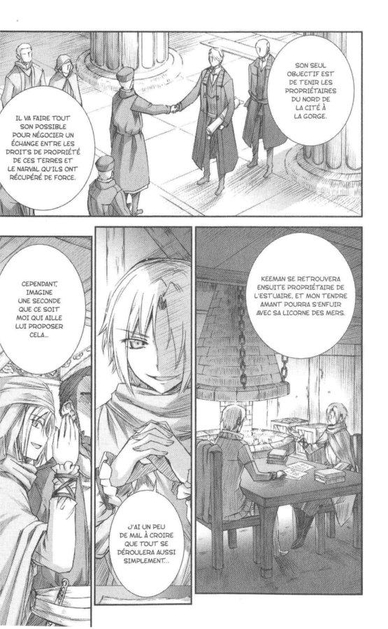 Page 2 du tome 10 de Spice & Wolf