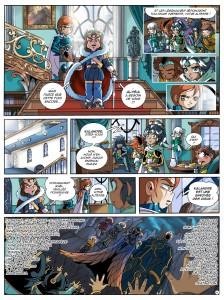 Page 4 du tome 17 des Légendaires