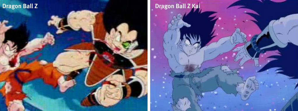 mort de Sangoku - Dragon Ball Z et Kai
