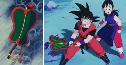Dragon Ball éventail magique Bashôsen
