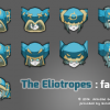 Eliotropes visages