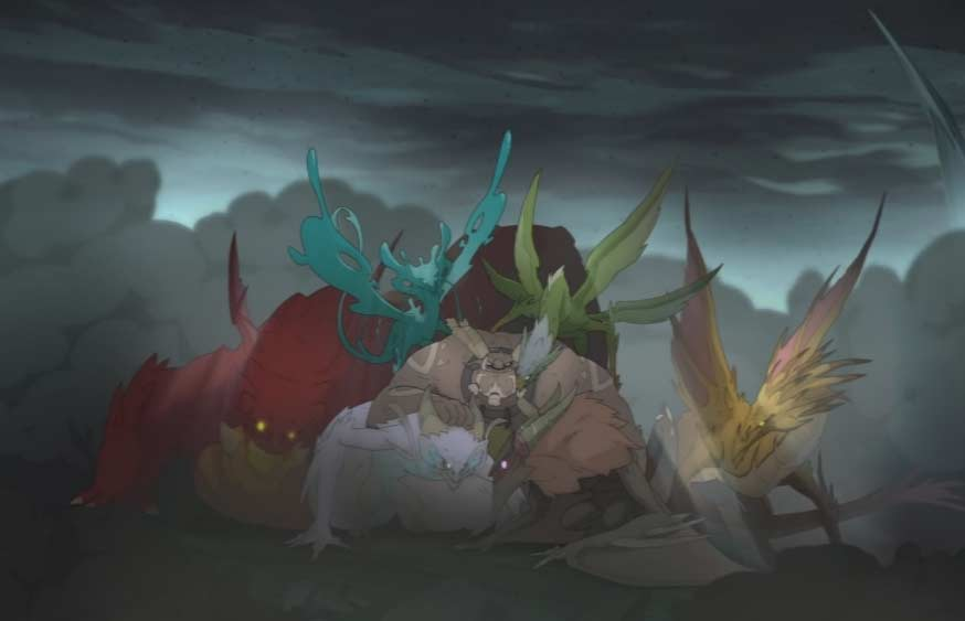 Ogrest et ses dragons