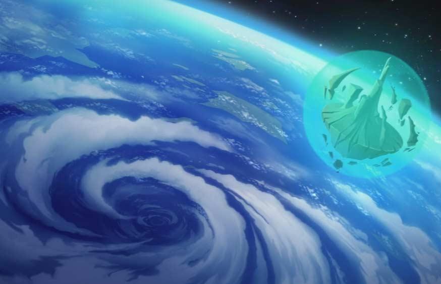 Le Mont Dragon est téléporté dans l'espace (Wakfu)