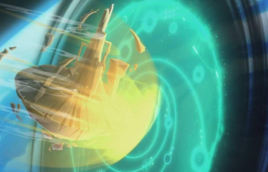Yugo ouvre le portail génant
