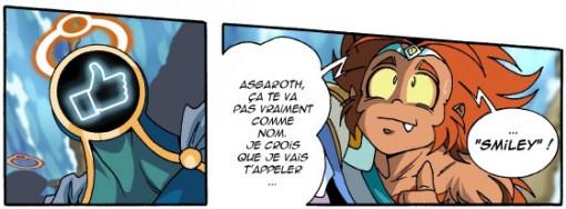 Gryf va surnommer Asgaroth : Smiley