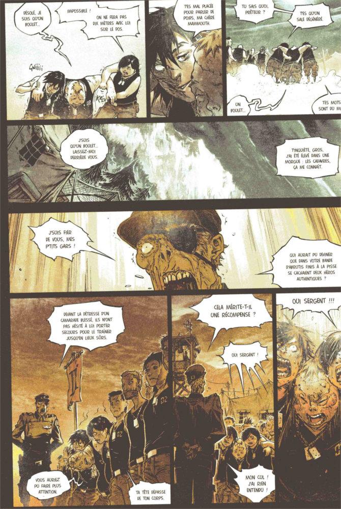 Page 1 de la BD Freaks' Squeele - Funérailles - Tome 2