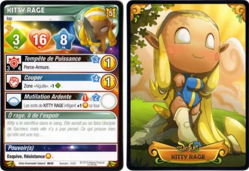 Kitty Rage carte Krosmaster
