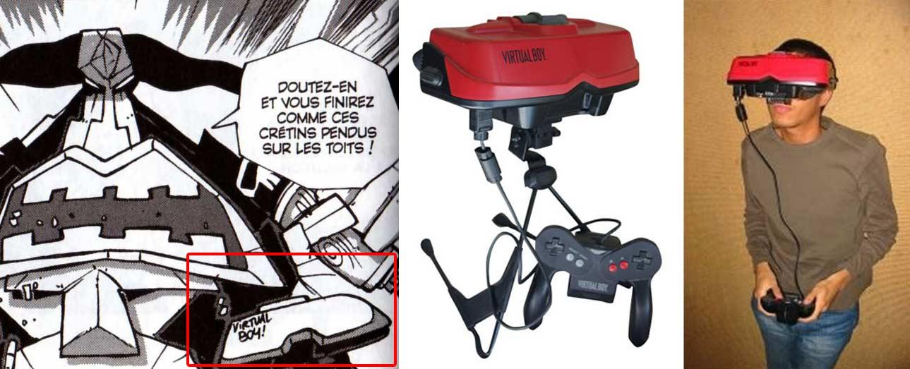 Virtual Boy, une console de Nintendo sorti en 1995