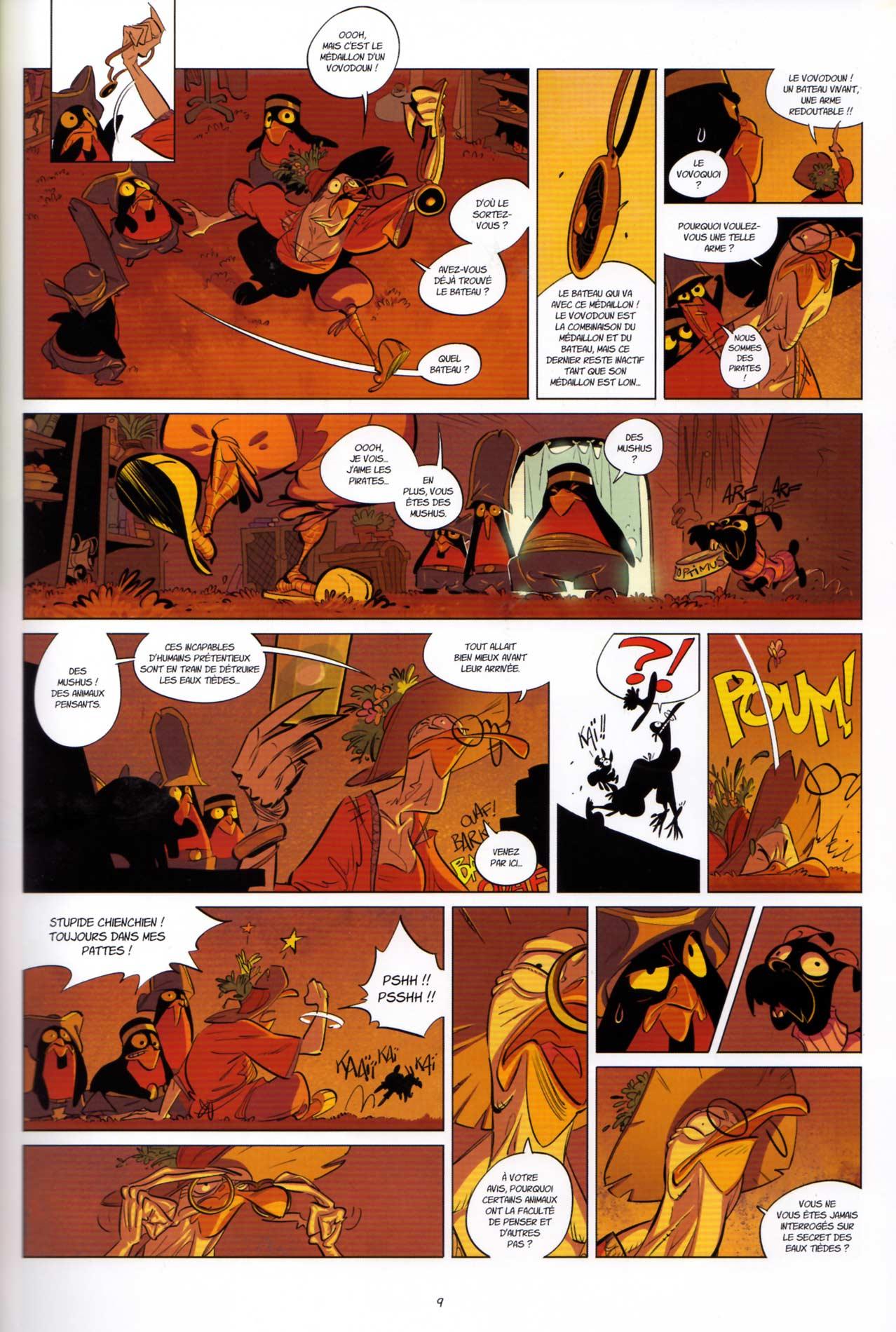 page 9 du tome 3 de Tangomango (Wakfu)