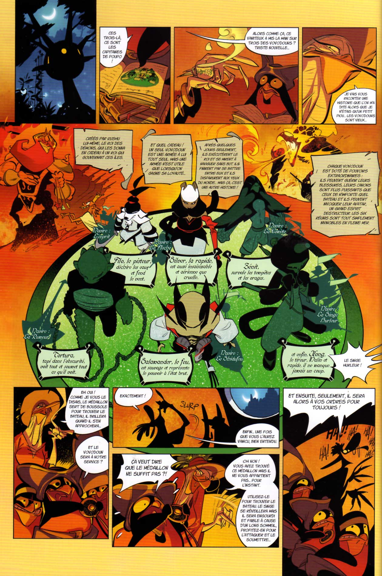 page 10 du tome 3 de Tangomango (Wakfu)