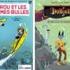 Tintin, Spirou et Fantasio, Donjon et Alix