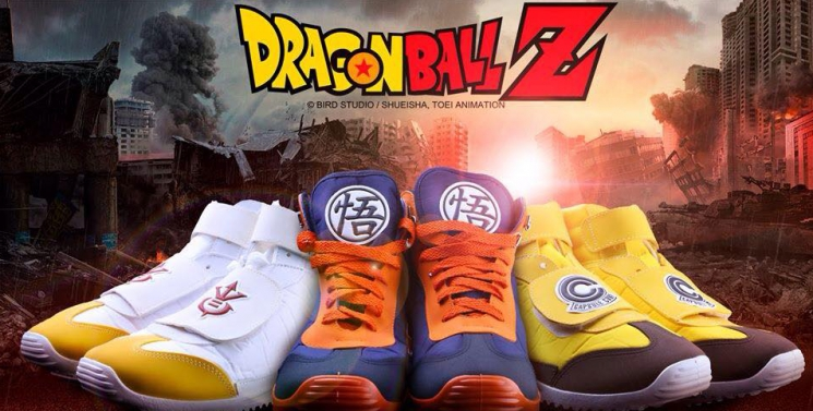 Baskets Dragon Ball Z- Chaussures Heredia