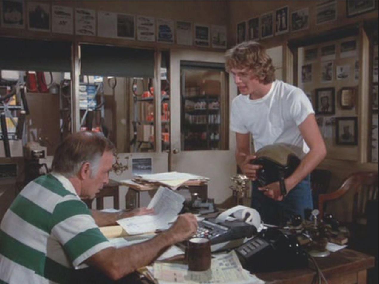 Sammy et Mark dans le bureau