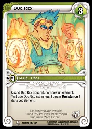 Duc Rex - Wakfu TCG