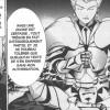 Saber et Lancer discutent dans le tome 6 du manga Fate / Zero