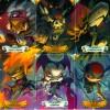 Dark Heroes Krosmaster cartes compilées