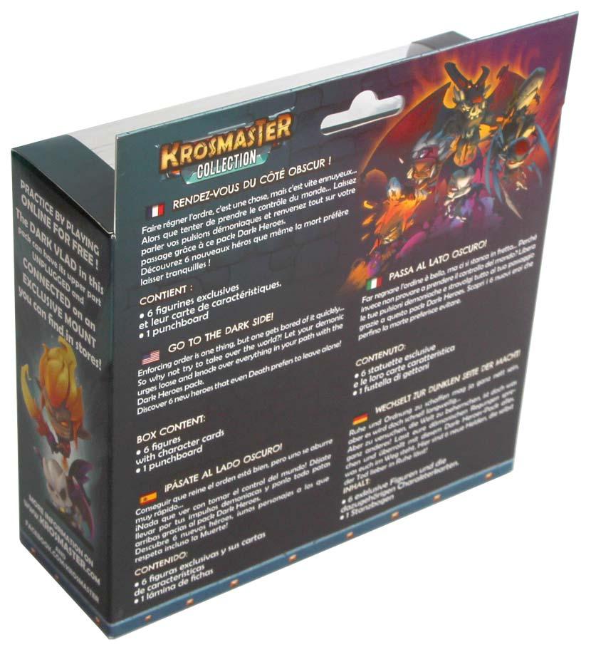 Dark Heroes Krosmaster dos packaging