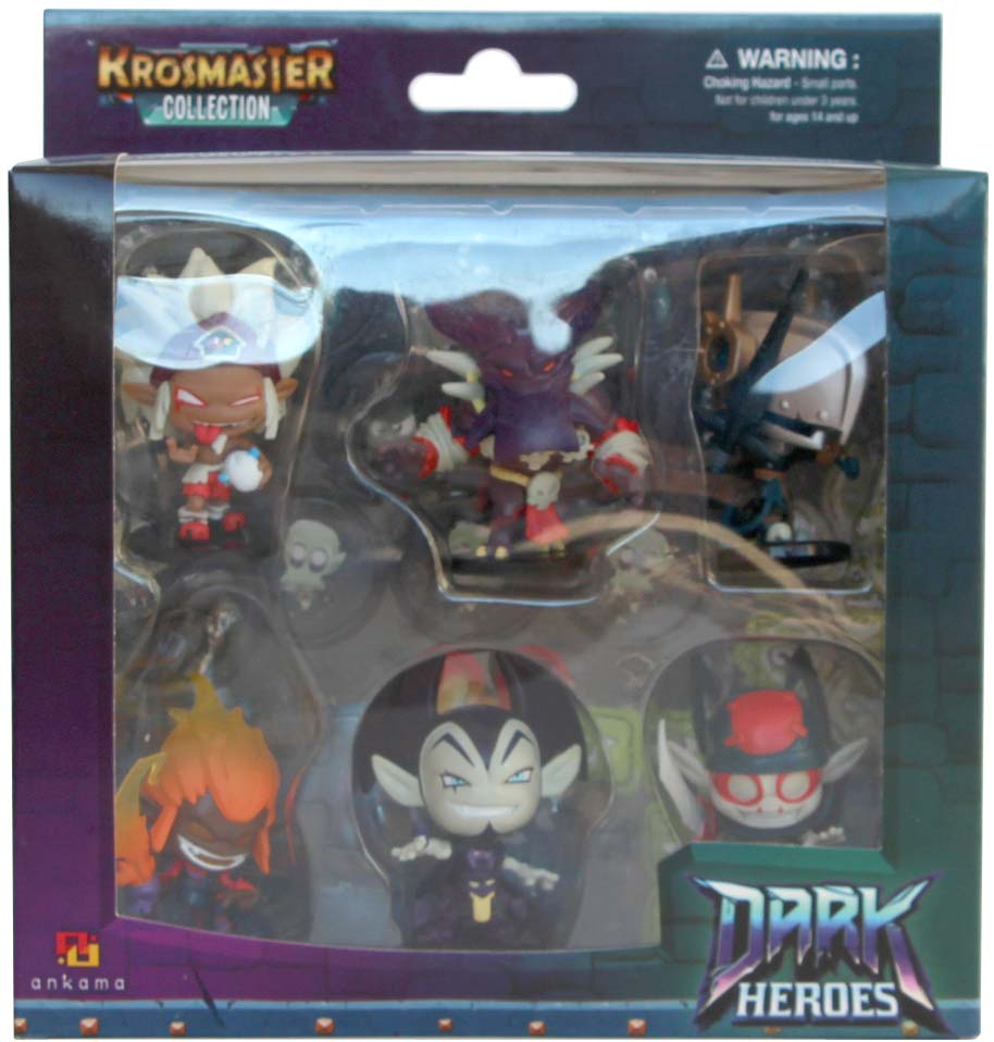 Pack Krosmaster Dark Heros