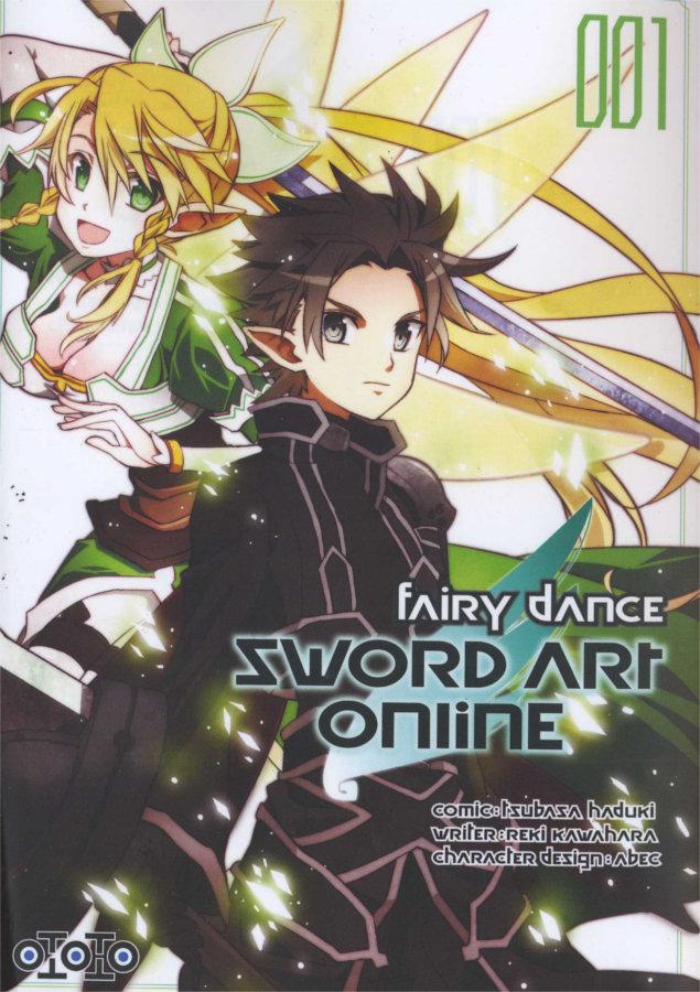 Couverture du tome 1 de Sword Art Online - Fairy Dance