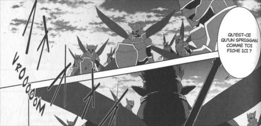 Assaut des Salamandres qui veulent empêcher un traiter de paix entre les Sylphes et les Caith Sith
