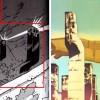 l'architecture reprend celle que l'on voit dans le générique des cités d'or