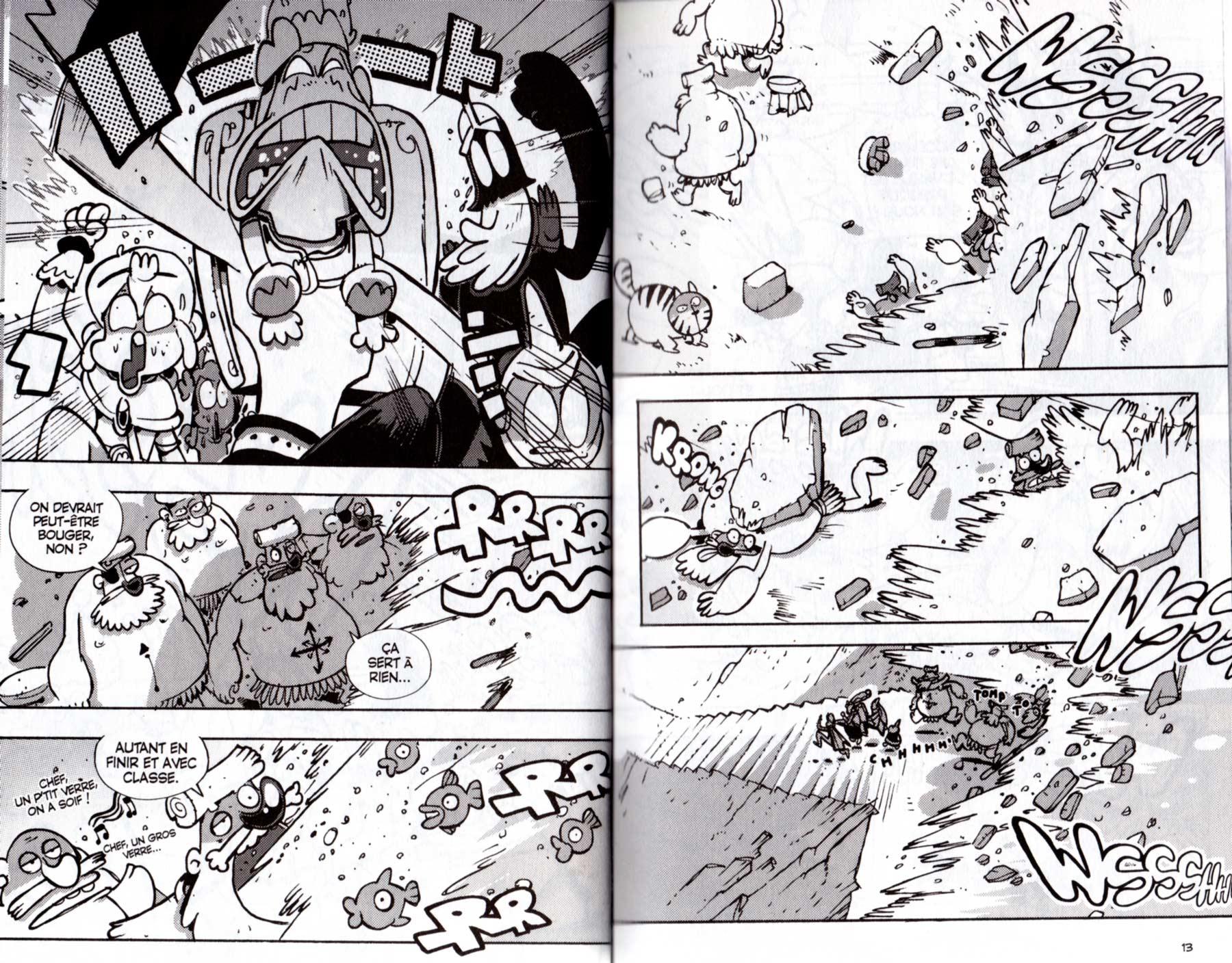Page 12 et 13 du tome 22 de Dofus
