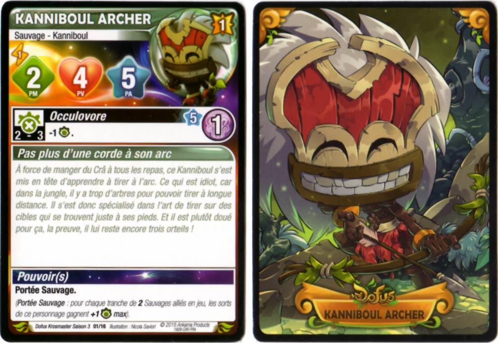 Kanniboul Archer carte Krosmaster